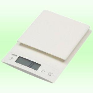 TANITA デジタルクッキングスケール ホワイト KD-320-WH