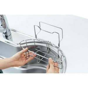 【ナスラック】洗剤かご(まな板立て付き)(Eシンク専用) PFE001
