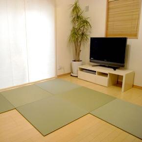 【SEKISUI/セキスイ】 美草 フロア畳(置き畳) 目積 グリーン 日本製