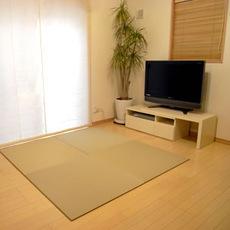 【SEKISUI/セキスイ】 美草 フロア畳(置き畳) 目積 リーフグリーン 日本製