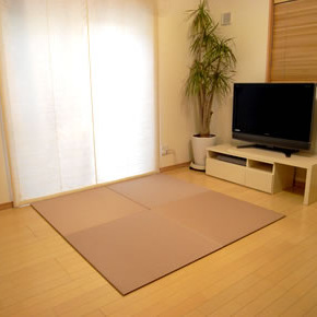 【SEKISUI/セキスイ】 美草 フロア畳(置き畳) 目積 ピンク 日本製