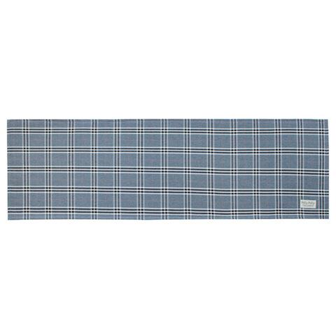 Pally Pally ロングラグ 56×180cm 撥水加工 洗濯機丸洗い・床暖房対応可 ブルー
