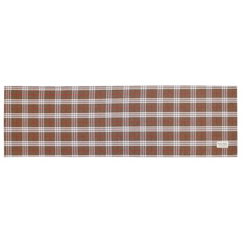 Pally Pally ロングラグ 56×180cm 撥水加工 洗濯機丸洗い・床暖房対応可 ブラウン