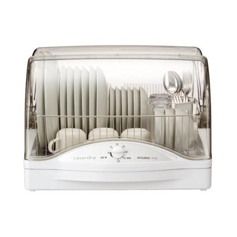 【MITSUBISHI】 食器乾燥機 キッチンドライヤー ホワイト TK-TS5-W