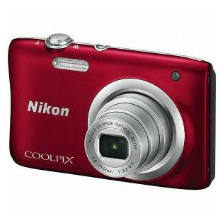 【Nikon/ニコン】コンパクトデジタルカメラ COOLPIX (クールピクス) A100 レッド A100-RD