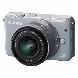 【Canon/キヤノン】ミラーレス一眼カメラ EOS M10 レンズキット グレー