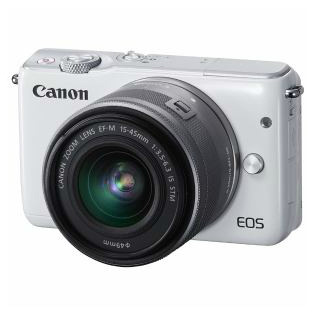 【Canon/キヤノン】 ミラーレス一眼カメラ EOS M10 ホワイト
