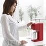 【SODA MINI】 家庭用炭酸水メーカー レッド スターター特別セット(本体+予備2本)