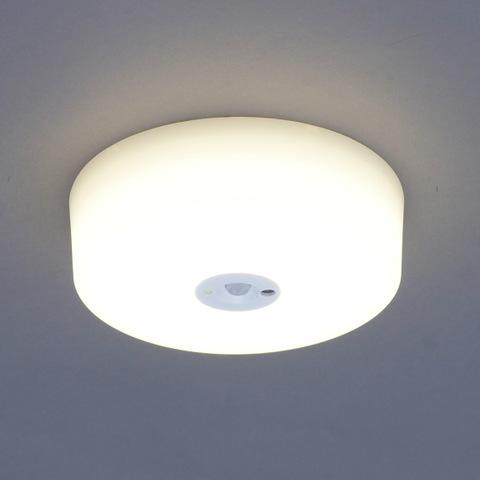 【IRIS/アイリスオーヤマ】小型 LEDシーリングライト(電球色)1750lm センサーありタイプ