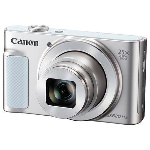 【Canon/キヤノン】コンパクトデジタルカメラ PowerShot ホワイト SX620 HS