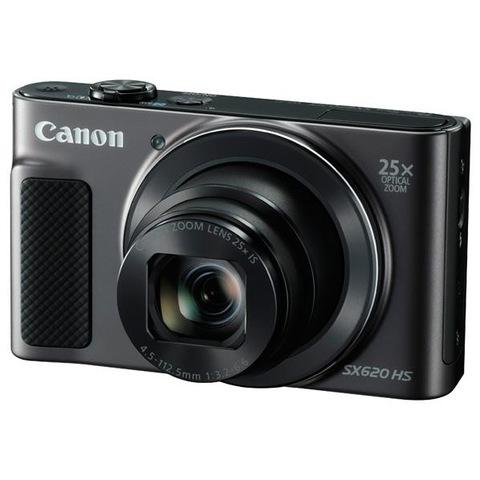 【Canon/キヤノン】コンパクトデジタルカメラ PowerShot ブラック SX620 HS