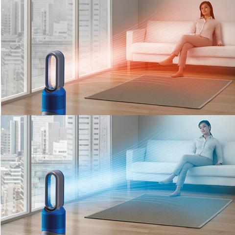 空気清浄機能付ファンヒーター Dyson Pure Hot+Cool Link アイアン/ブルー