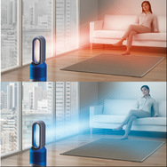 【Dyson/ダイソン】空気清浄機能付ファンヒーター Dyson Pure Hot + Cool Link アイアン/ブルー HP02-IB