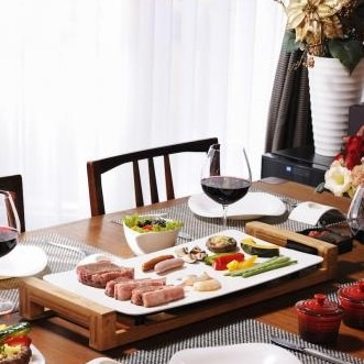 【PRINCESS/プリンセス】テーブルグリル ピュア オシャレな白いホットプレート 103030
