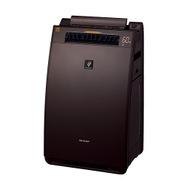 【SHARP/シャープ】加湿空気清浄機 高濃度プラズマクラスター 25000搭載 プレミアムモデル ブラウン系