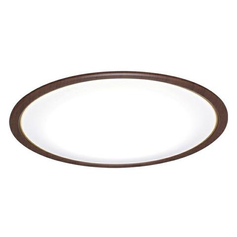 【アイリスオーヤマ】~14畳用 LEDシーリングライト 木調フレーム ウォールナット 調光・調色機能 CL14DL-5.0WF-M