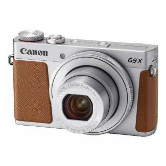 【Canon/キヤノン】コンパクトデジカメ PowerShot G9 X Mark II シルバー