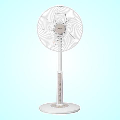 【MITSUBISHI/三菱電機】リビング扇風機 R30J-MU-W クールホワイト