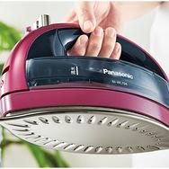 【Panasonic/パナソニック】コードレススチームアイロン NI-WL404-P ピンク