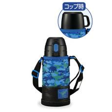 【象印】ステンレスボトル2WAY ザウルスブルー SP-JA06-AZ