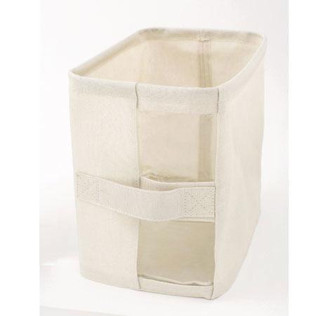 ファブリック収納ボックス 衣類収納ケース フタ無し 幅185×奥行260×高さ260mm