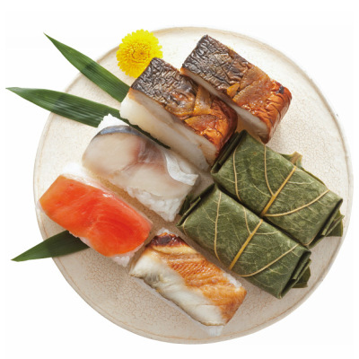 文久元年創業「平宗」 柿の葉寿司・焼鯖ずしセット