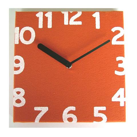 壁掛け時計 Torno オレンジ