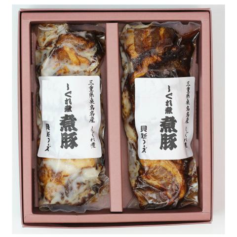 【貝新フーズ】志ぐれ煮 煮豚スライス 175g×2