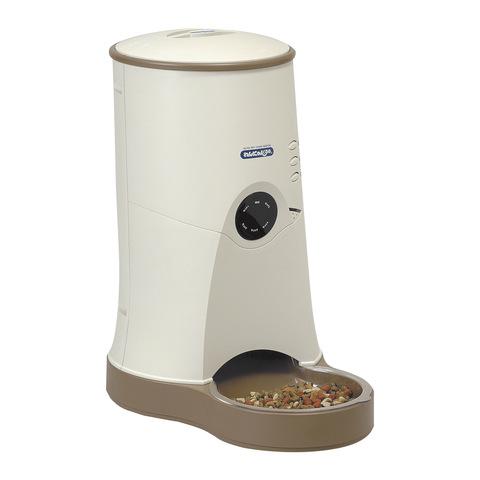 ヤマサ 自動給餌器 わんにゃんぐるめ 小型犬・猫兼用(室内据え置き型) CD-600 BE