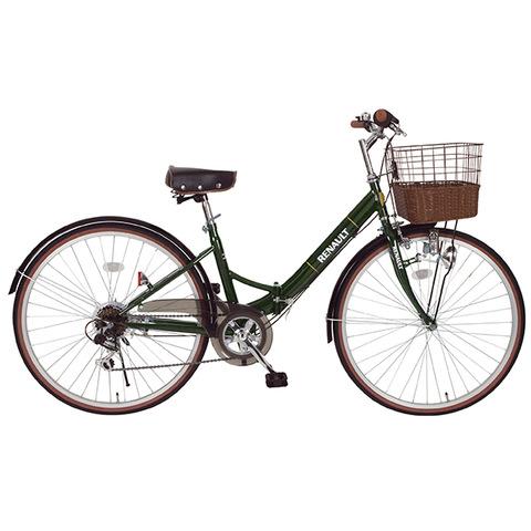 【ルノー】26型折りたたみ自転車 シティ FDB26 6S