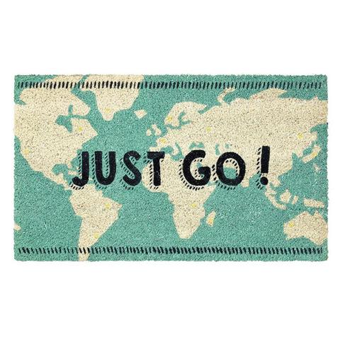 玄関マット コイヤーマット JUST GO! ATGG2530
