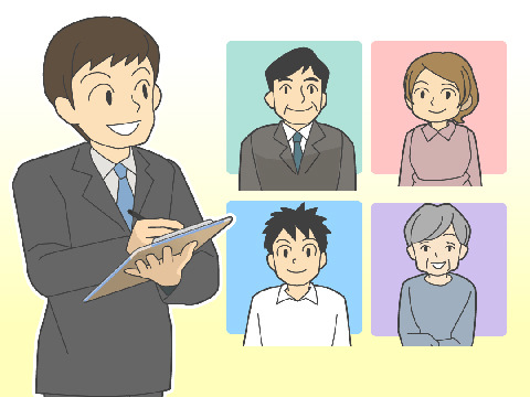 企業と消費者間のモノと情報の流れ