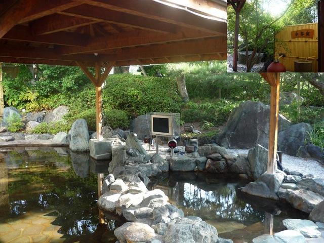 多度温泉のお湯がとても気持ちいいです。