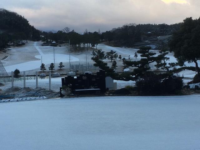 寒波の襲来と今季の初積雪