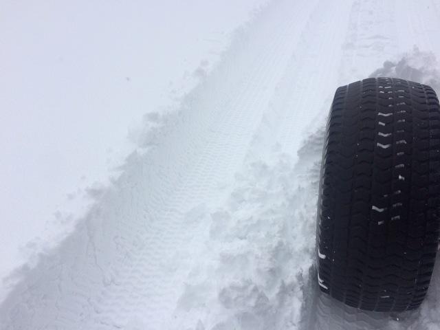 本格的な除雪作業開始~Fwの圧雪作業~