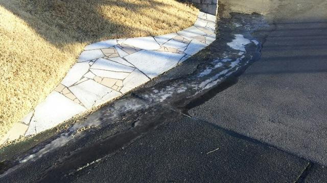 路面の凍結には、ご注意を!