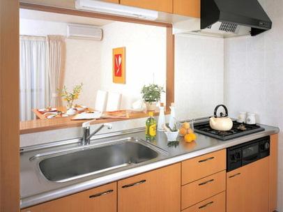 セミオープンキッチン