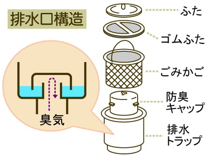 排水トラップ