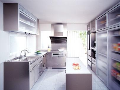 U型キッチン