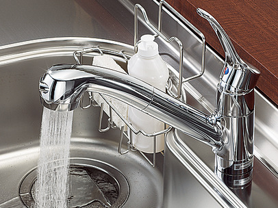 クリックシャワー混合水栓