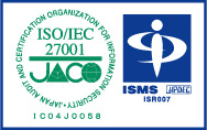 ISO/IEC 27001認定マーク