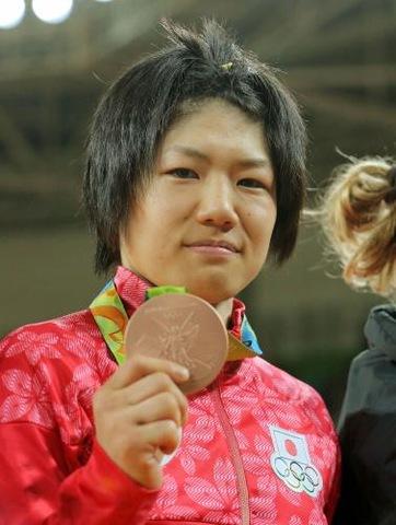 リオデジャネイロ五輪柔道女子52キロ級銅メダリストの中村美里