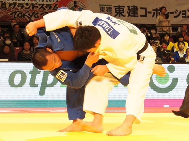 柔道グランドスラム東京2015 男子66kg級 決勝 海老沼匡 vs 高上智史