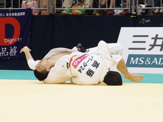 平成28年全日本選抜柔道体重別選手権大会 男子60kg級 1回戦 高藤直寿 vs 青木大�B