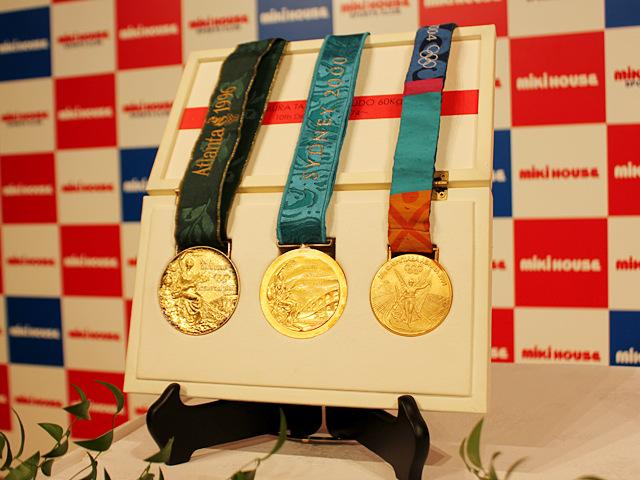 五輪3大会金メダル