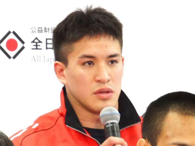 男子90kg級 ベイカー茉秋(東海大学4年)