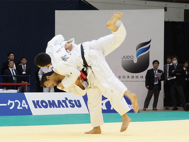 平成28年全日本選抜柔道体重別選手権大会 男子60kg級 1回戦 高藤直寿 vs 青木大