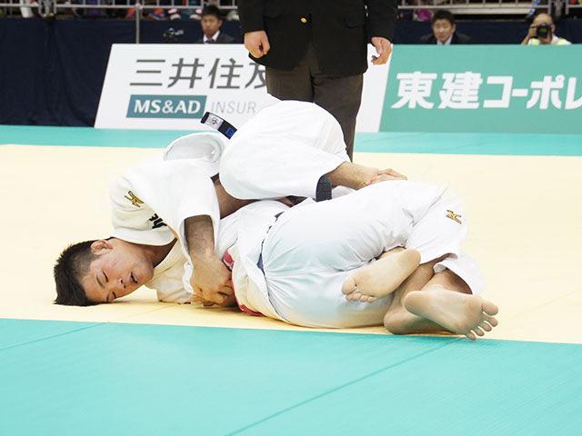 平成28年全日本選抜柔道体重別選手権大会 男子73kg級 決勝戦 大野将平 vs 中矢力