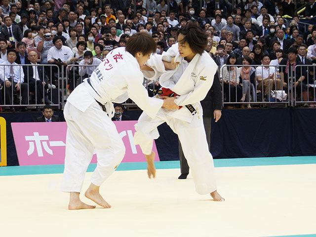 平成28年全日本選抜柔道体重別選手権大会 女子57kg級 1回戦 松本薫 vs 大友真貴子