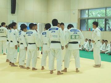 リオデジャネイロ五輪・柔道男子日本代表強化合宿